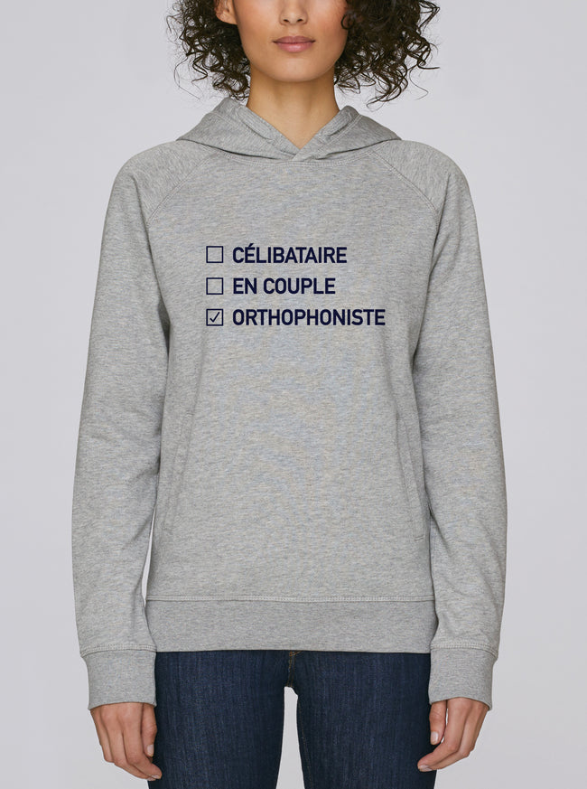 Sweat capuche Vie sentimentale