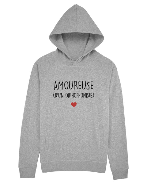 Sweat capuche Amoureuse Ortho