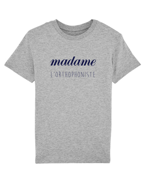 T-shirt Enfant madame orthophoniste