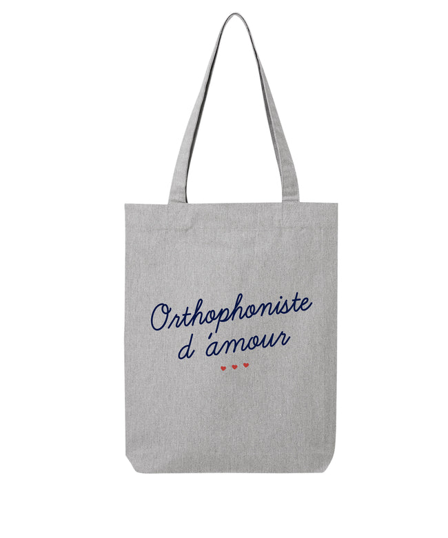 Tote bag Orthophoniste d'amour