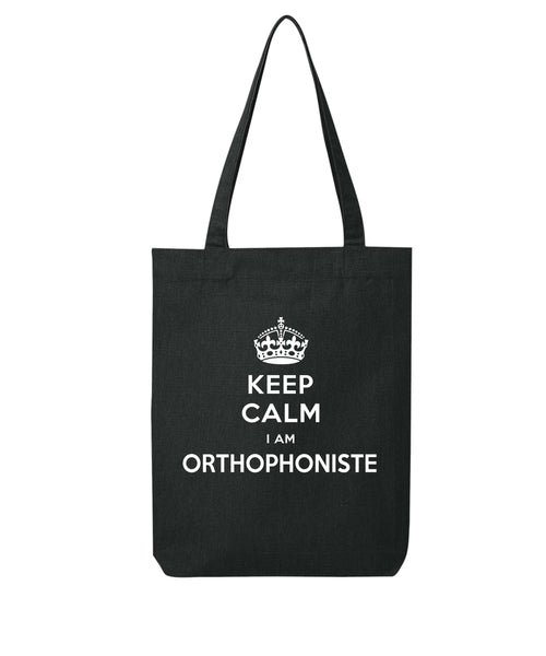 Tote bag Keep calm Orthophoniste