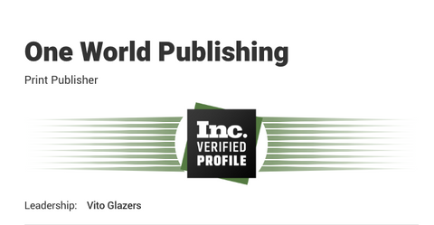 INC.com - Vito Glazers - One World Publishing