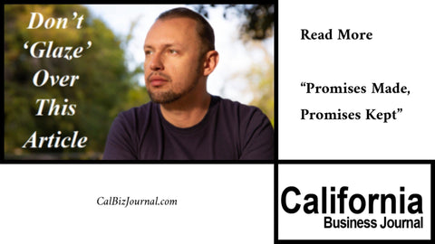 vito glazers face and california business journal logo