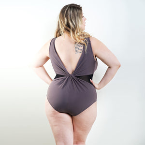 Harriet Knotted Plunge One Piece