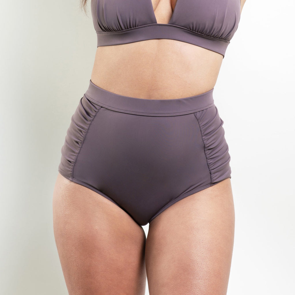 Marilyn High Waisted Bottom Purple