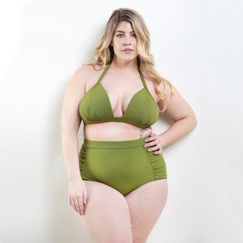 Marilyn High Waisted Bottom Green