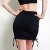 Ellanora Wrap Skirt Black