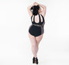 Margarette High Neck Tear Drop One Piece