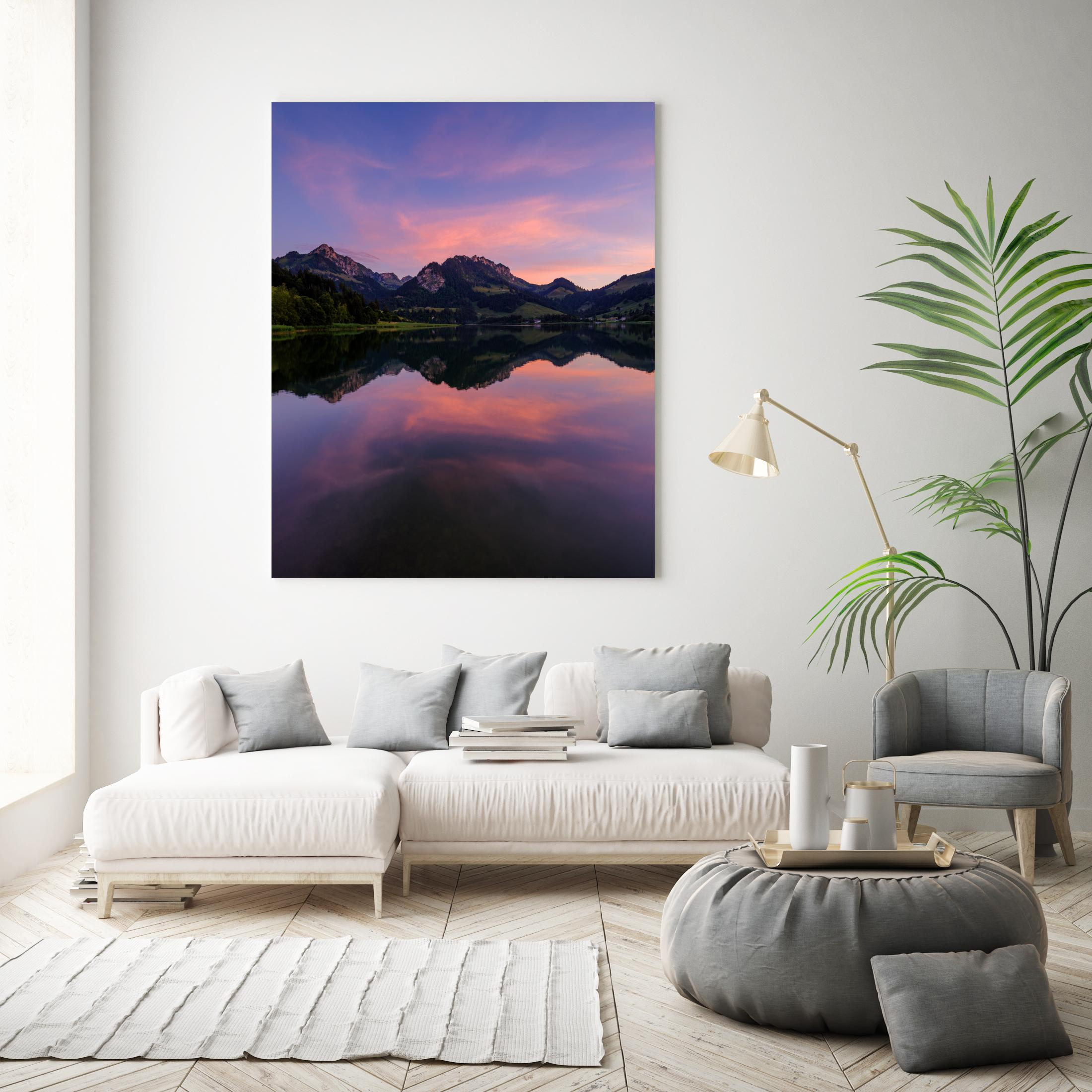 Limited Edition: Sonnenuntergang am Schwarzsee - Peter Wey Fotografie