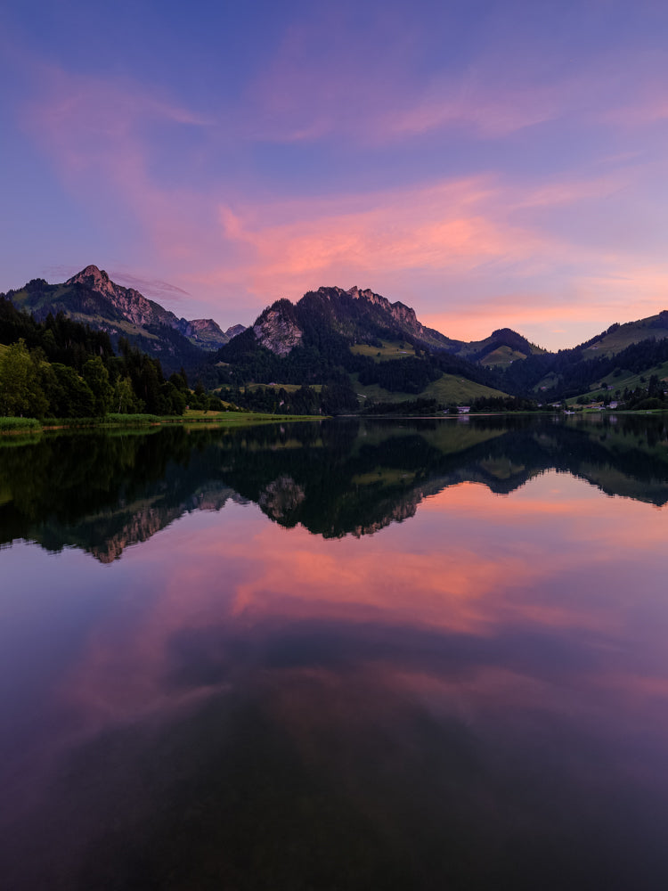 Limited Edition Sonnenuntergang am Schwarzsee - Peter Wey Fotografie