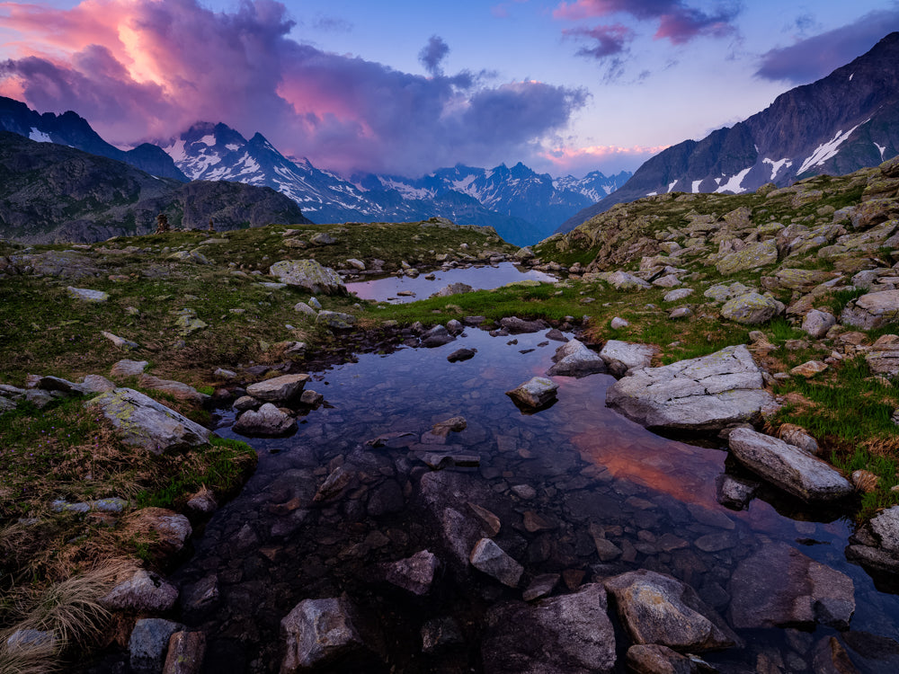 Limited Edition Sonnenuntergang am Sustenpass - Peter Wey Fotografie