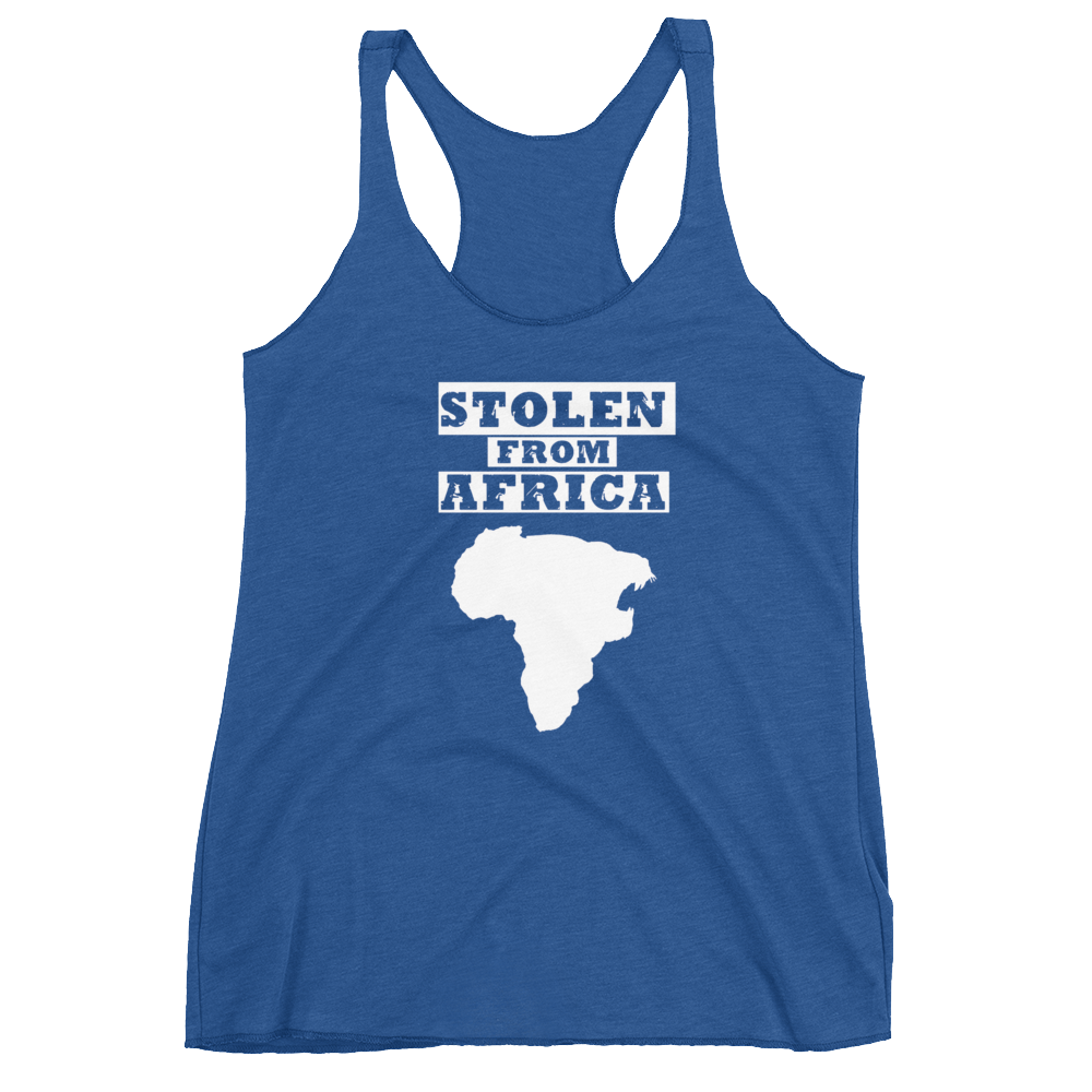 Stolen From Africa - Tank top- Womans (Blue)