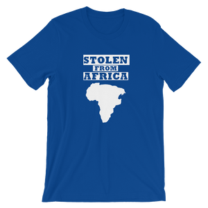 Stolen From Africa T-shirt - Mens (Caribbean blue)