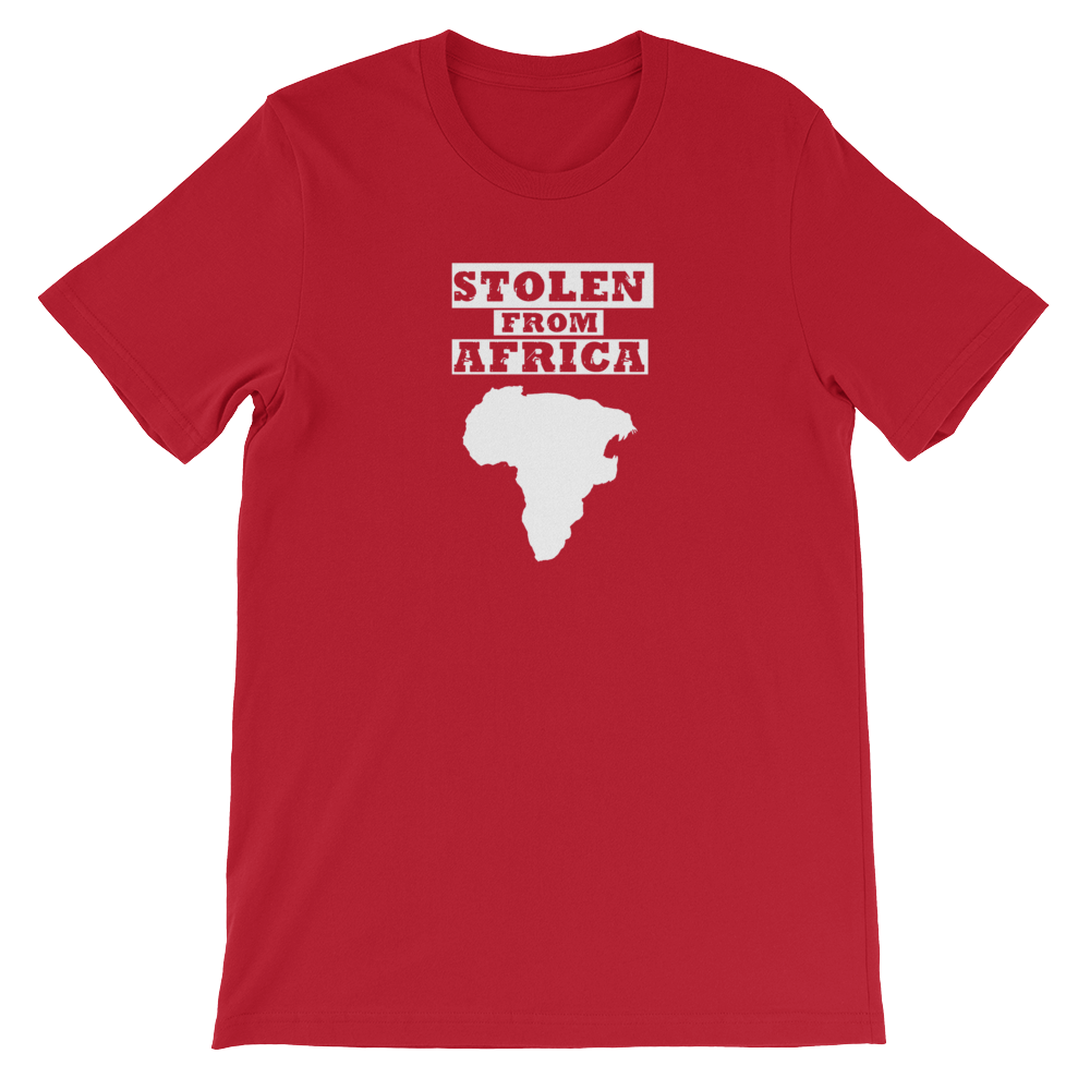 Stolen From Africa T-shirt Mens (Red)