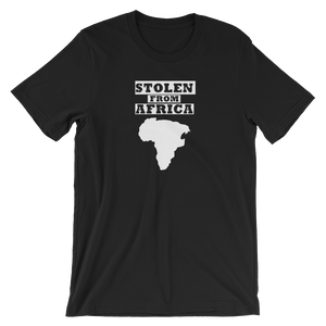 Stolen From Africa T-shirt Mens (Black)