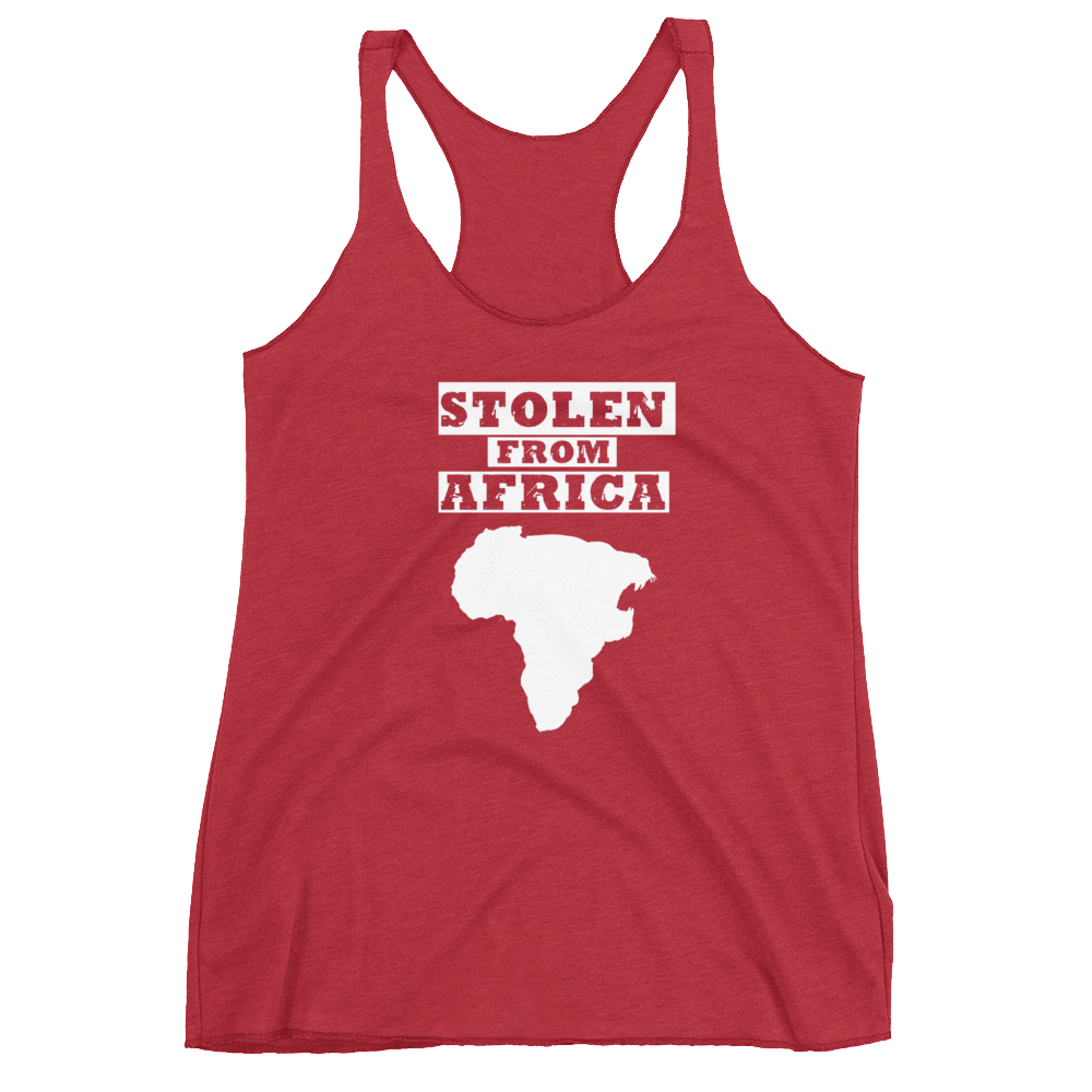 Stolen From Africa - Tank top - Womans (Red)
