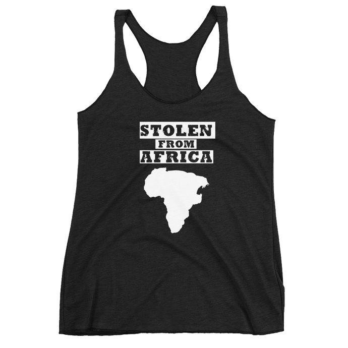 Stolen From Africa - Tank top - Womans (Black)