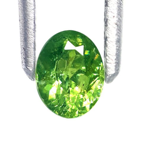 Demantoid Garnet Top Best Quality With Horse Tail Inclusion - Redstargems