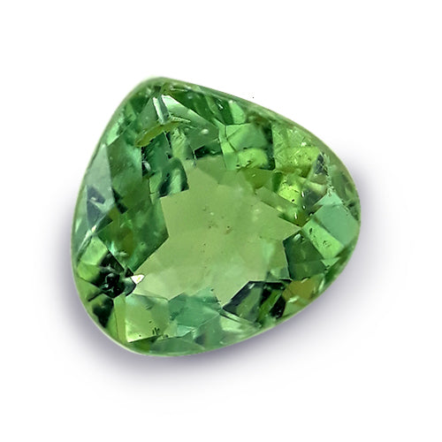 Pear Shaped Green Saturated Apatite Gem - Redstargems