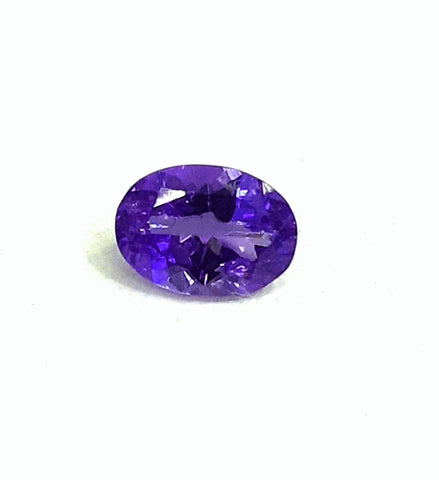 Natural tanzanite loose gemstone oval 7 mm deep saturated color - Redstargems
