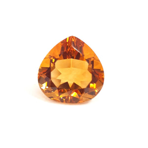 Natural golden yellow citrine pear shape loupe clean gemstone - Redstargems