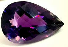 Load image into Gallery viewer, Intense velvet purple amethyst super saturated 13 Carats - Redstargems