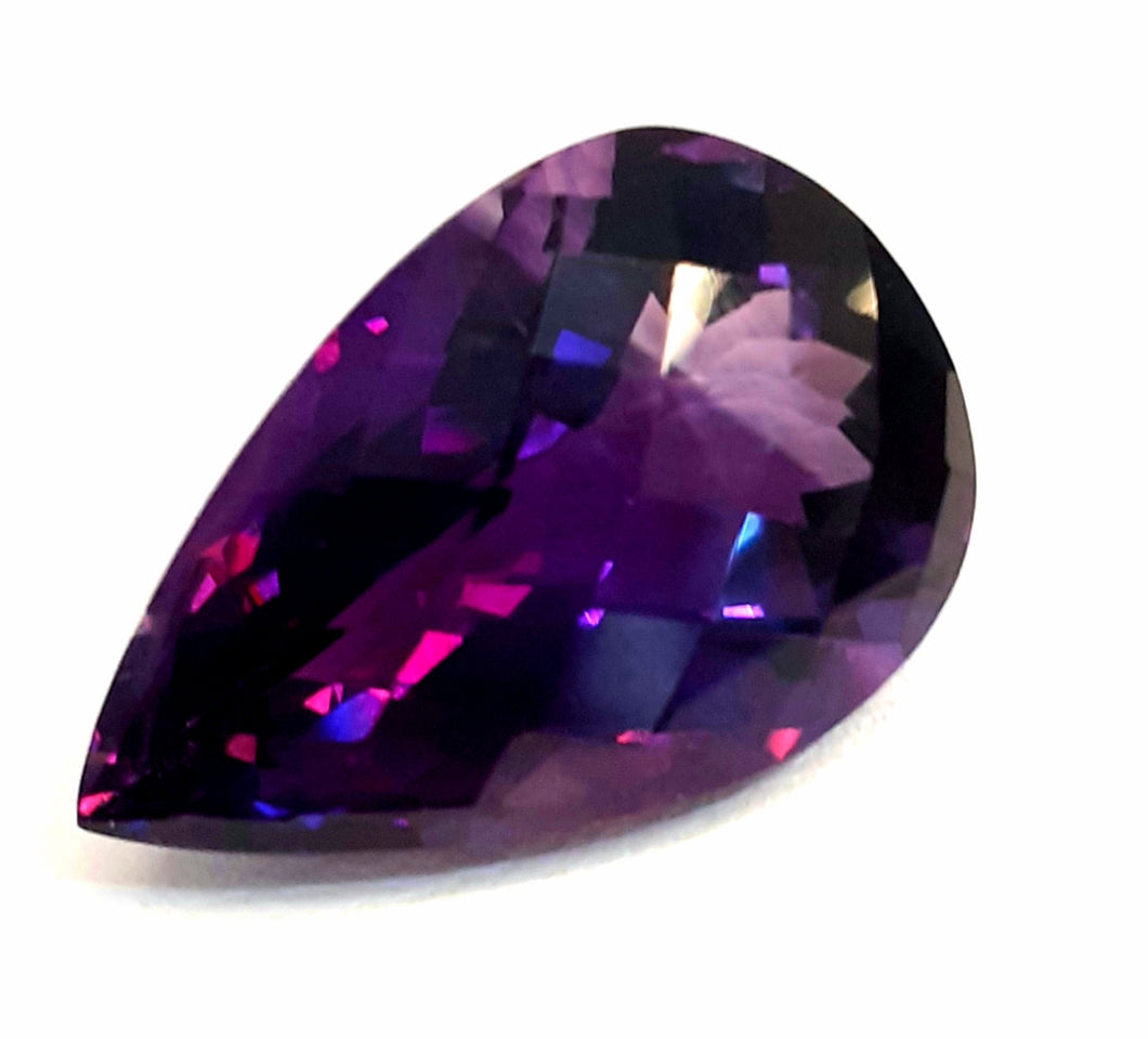 Intense velvet purple amethyst super saturated 13 Carats - Redstargems