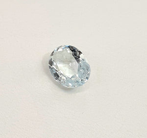 Aquamarine loose gemstone colorless spectacular natural gem - Redstargems