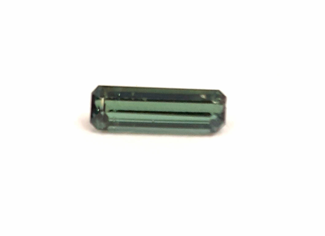 Unique green natural tourmaline gemstone stick - Redstargems