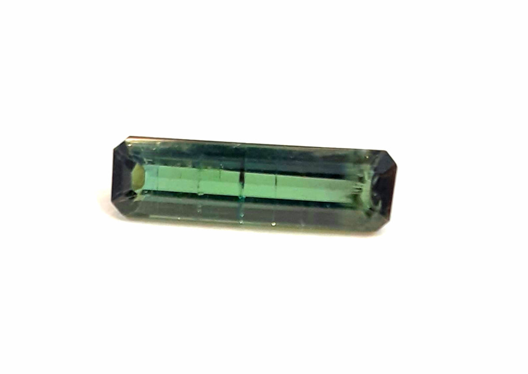 Tourmaline green gemstone stick solid 1.80 carats natural gem - Redstargems