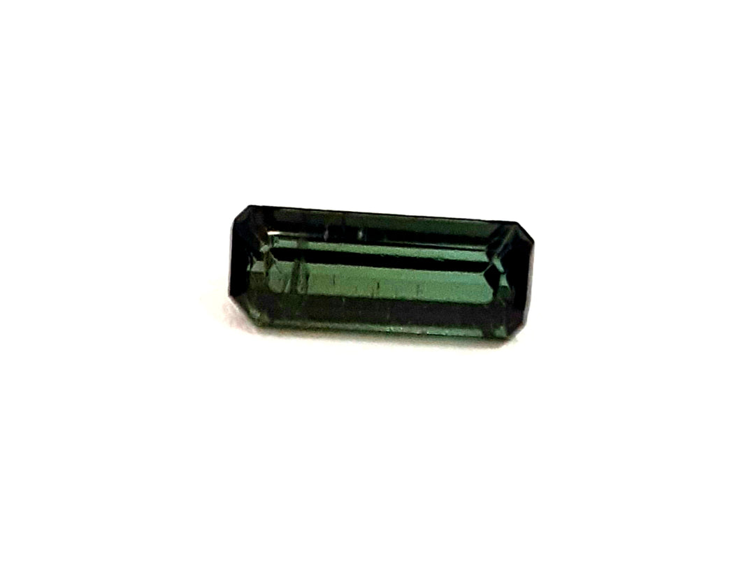 Green tourmaline natural loose gemstone stick 1.00 carats - Redstargems