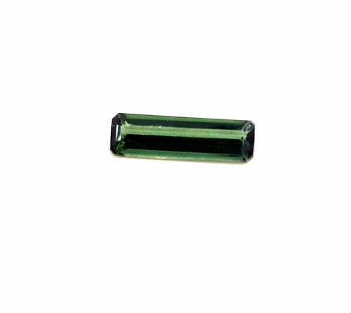 Sparkly green natural tourmaline loose gemstone 0.85 carats - Redstargems