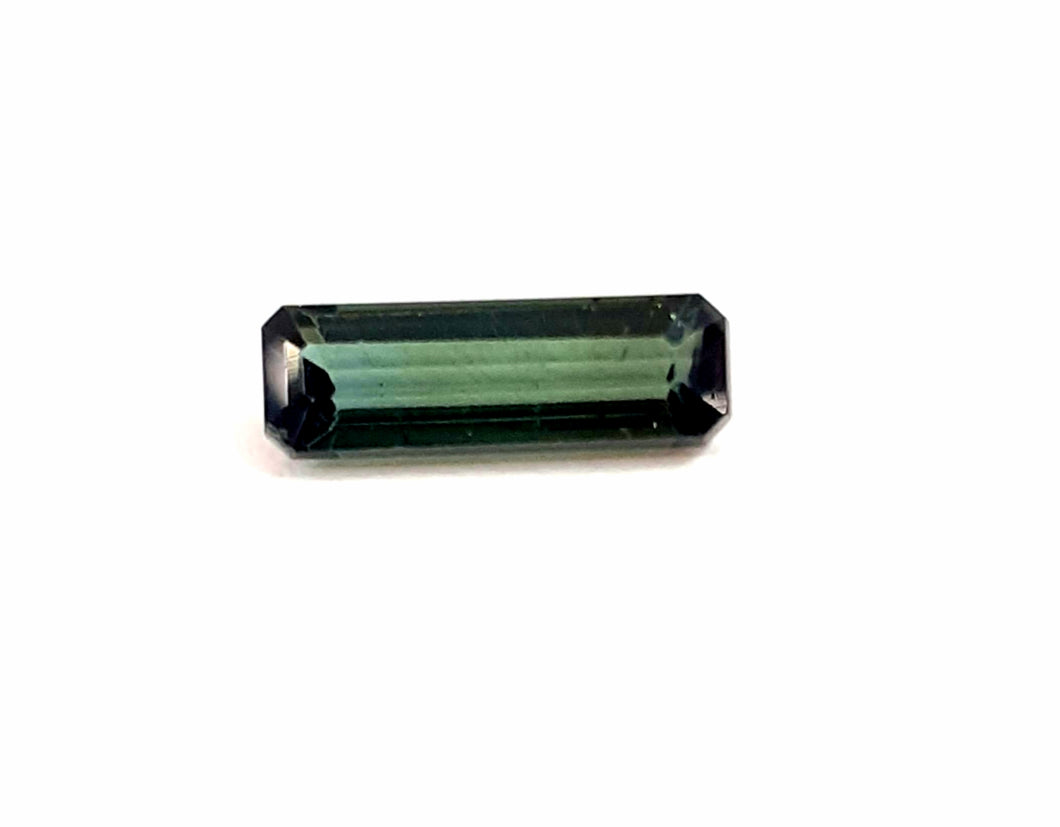 Outstanding green tourmaline gemstone stick loose natural - Redstargems