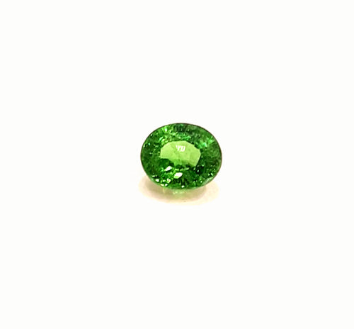 Fabulous green tsavorite garnet loose gemstone 1.05 carats - Redstargems