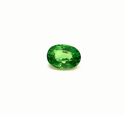 Natural green tsavorite garnet gemstone loose 0.90 carats - Redstargems