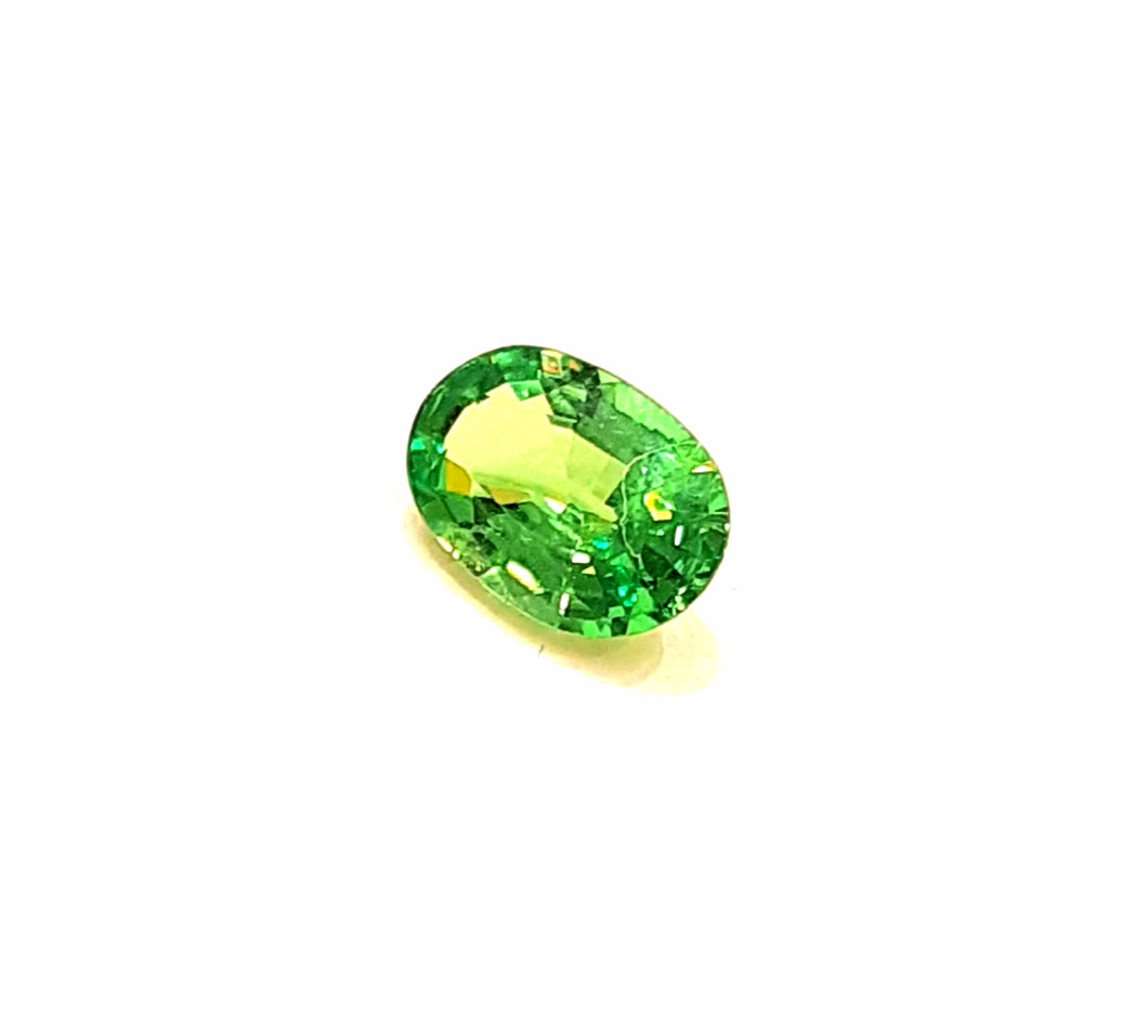 Green Tsavorite Garnet Gemstone Loose 0.84 Carats - Redstargems