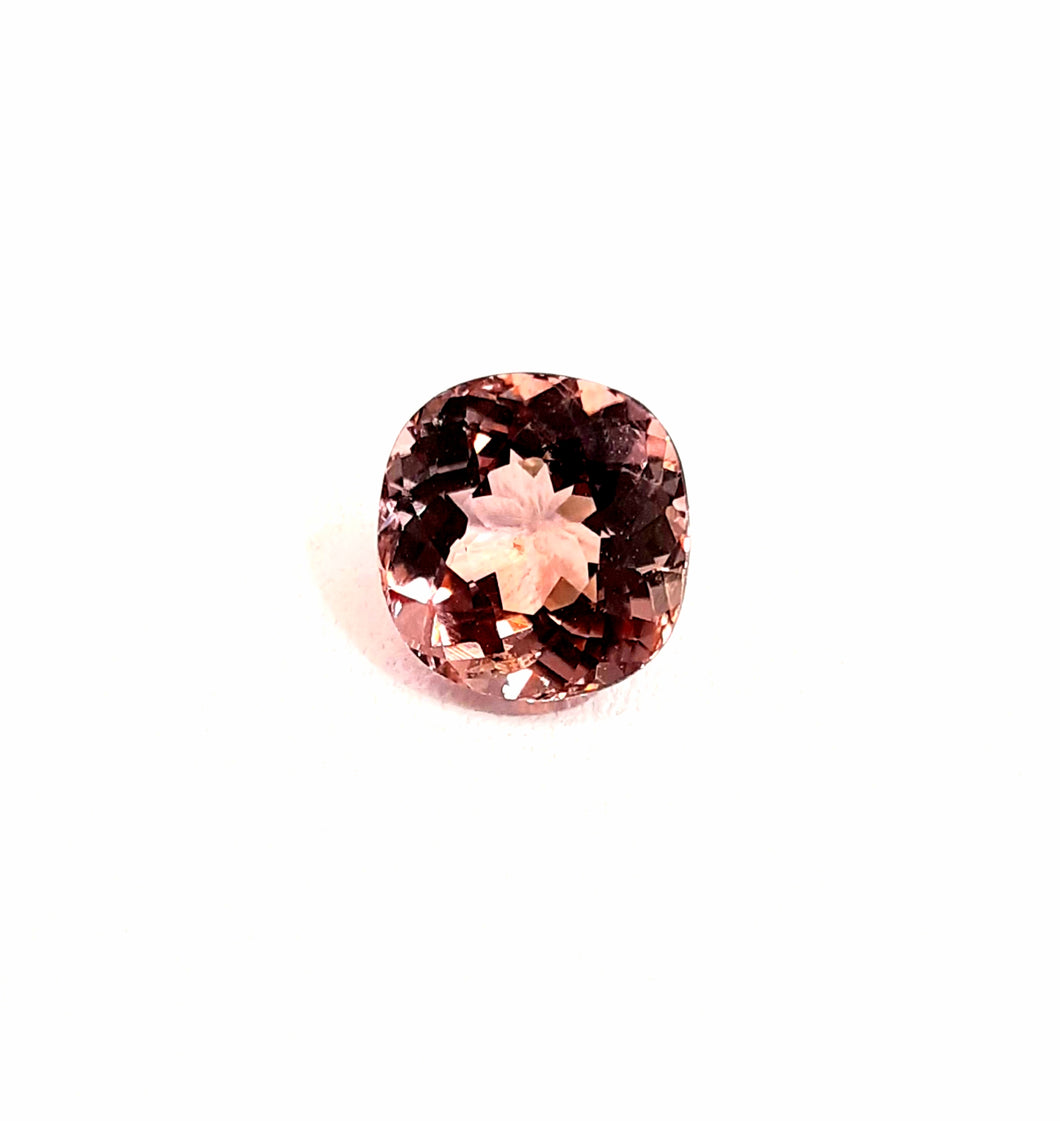 Pink Tourmaline Gemstone Cushion Cut 2.25 Carats - Redstargems