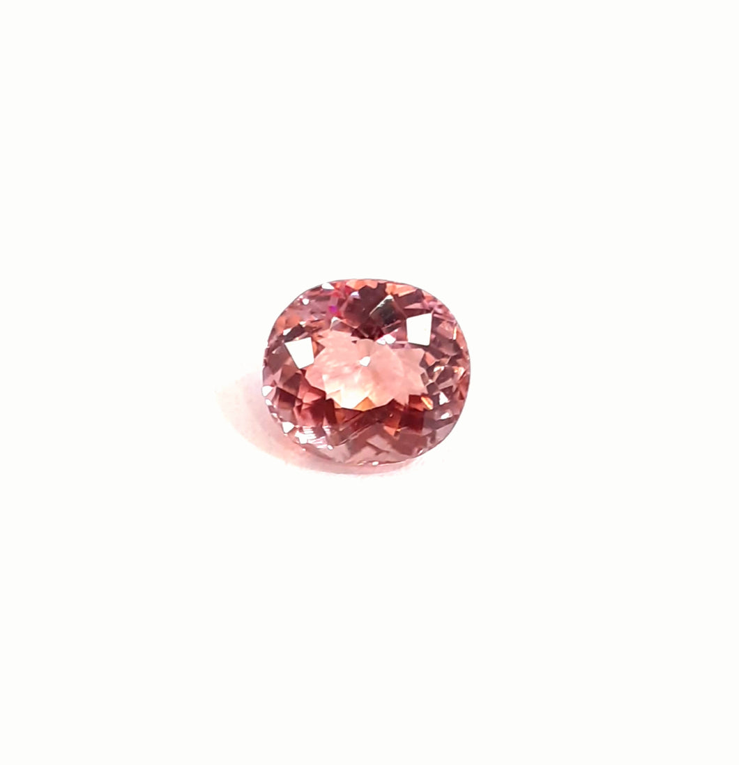 Pink Tourmaline Loose Gemstone Oval Shape 2.20 Carats - Redstargems