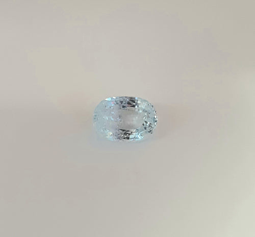 Unique Aquamarine Gemstone 1.55 Carats Oval Shape - Redstargems