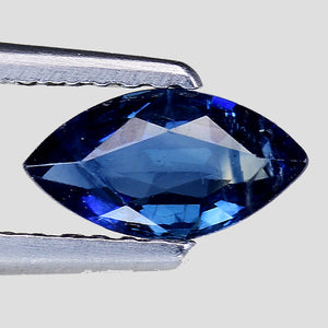 Greenish blue sapphire 0.50 carats marquise shape - Redstargems