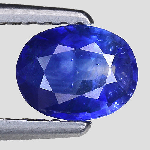 Blue sapphire 0.90 carats natural loose gemstone - Redstargems