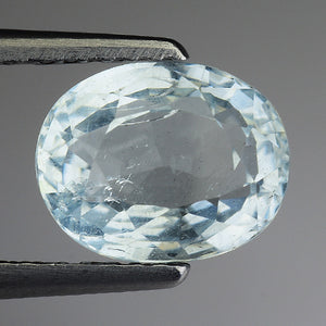 Aquamarine loose gemstone 1.90 carats brazil origin - Redstargems