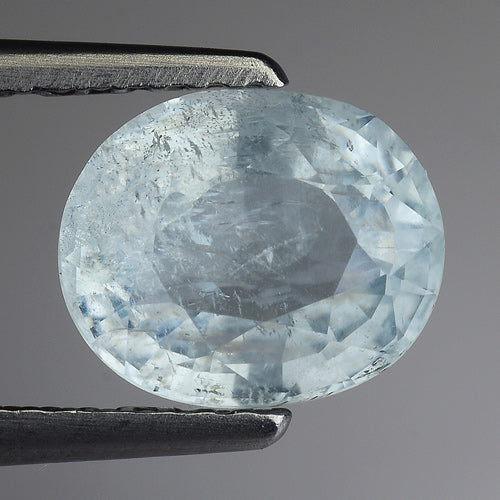 Shocking Aquamarine Loose Gemstone 1.70 Carats 8 x 7 MM - Redstargems