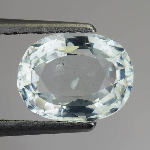 2.40 Carats Natural Aquamarine Loose Gemstone Oval Shape - Redstargems