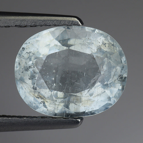 Popular Aquamarine Loose Gemstone 2.15 Carats 9 x 7 MM - Redstargems