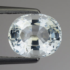 Impressive Natural Aquamarine Loose Gemstone 1.85 Carats 8 x 7 MM - Redstargems
