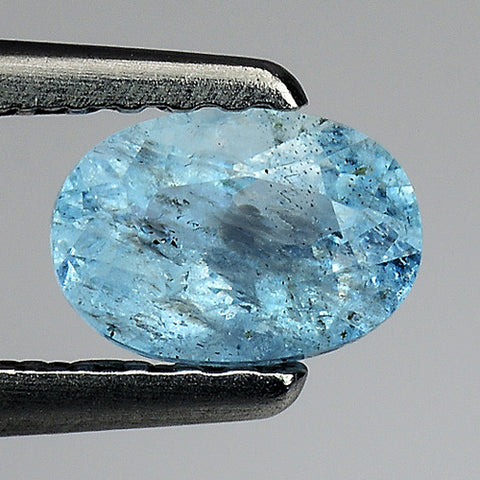Aquamarine splendid color n a treat to ur eyes 0.50 cts - Redstargems