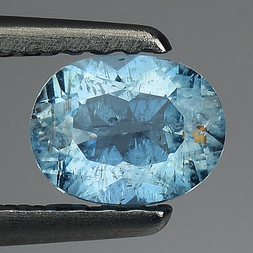 Aquamarine gemstone loose 0.55 carats 5 x 4 mm - Redstargems