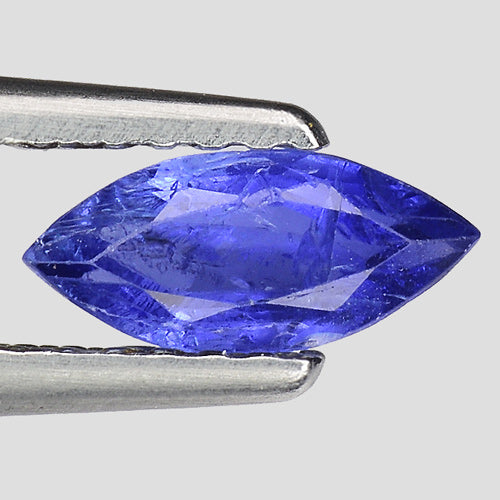 Marquise shape blue sapphire gemstone 0.60 carata 7 x 3 mm - Redstargems