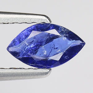 Blue sapphire gemstone 0.45 carats loose gem  srilankan origin - Redstargems